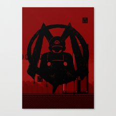 M For Mario Canvas Print