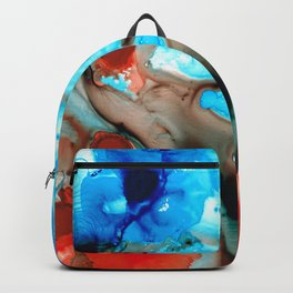 Owl Fish - Abstract Art By Sharon Cummings Backpack