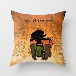 Les vendanges Throw Pillow