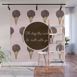 Melt With You (Strawberry) Wall Mural