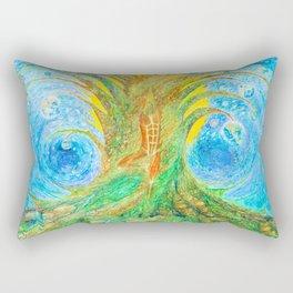 Flow Song of the Universe Rectangular Pillow