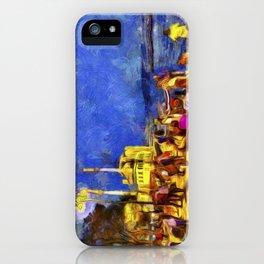 Istanbul At Night Van Gogh iPhone Case