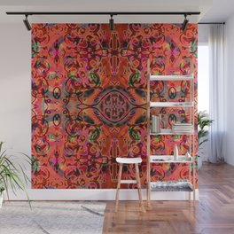 Coral Ornate Fusion Wall Mural