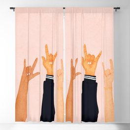 Rock On! Blackout Curtain