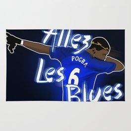 Allez Les Blues Rug