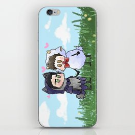 Sheep and Wolf iPhone Skin