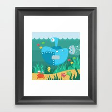 SUBMARINE (AQUATIC VEHICLES) Framed Art Print