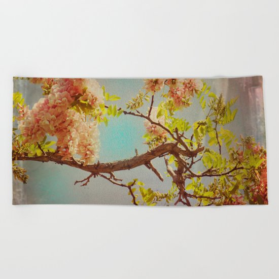 The arms of Spring Beach Towel