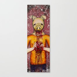 Heart Eater (Boy) Canvas Print