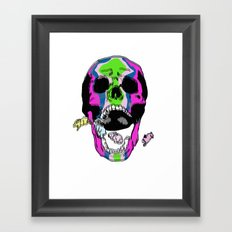 in my dreams a tend bunny traps  Framed Art Print