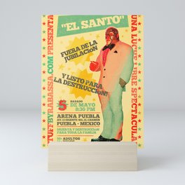 Lucha Libre Mini Art Print