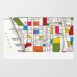 Los Angeles Streets Rug
