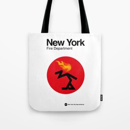 007 NEW YORK Fire Dept. - Edition 2 Tote Bag