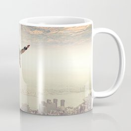 Diving to the Parallel Worlds Coffee Mug