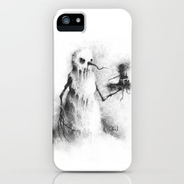 The Icy Embrace iPhone Case