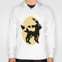 umbreon Hoodies featuring Umbreon by Polvo