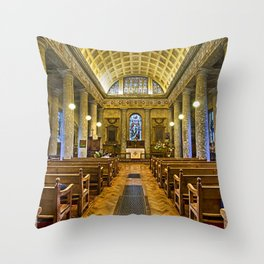 Inside St Lawrence Mereworth Throw Pillow