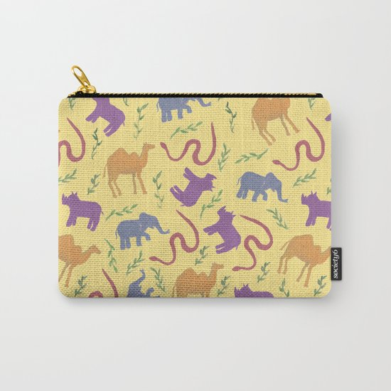 Animal colorfulness Carry-All Pouch