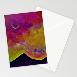 Spring Sky over Mourne Mountains Stationery Cards