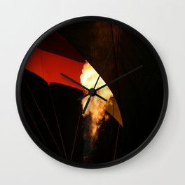 Hot Air Baloon Wall Clock