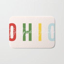 "Ohio ""Birthplace of Aviation"" Color Bath Mat"