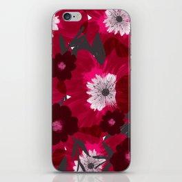 Flowers Overflowing iPhone Skin