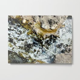 Minerals of the Dead Sea Metal Print
