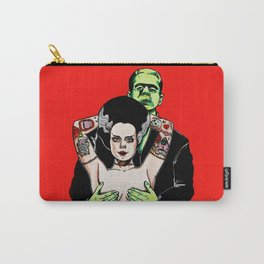 Mr. Frankenstein and Mrs. Frankenstein Carry-All Pouch