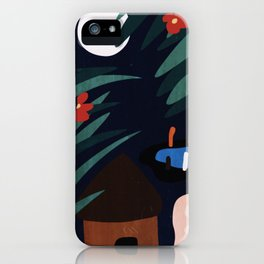 Couple's Night at the Hut iPhone Case