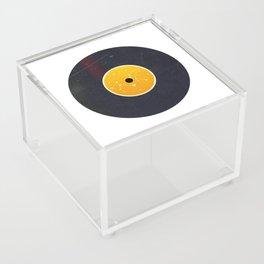 Vinyl Record Star Sign Art | Leo Acrylic Box