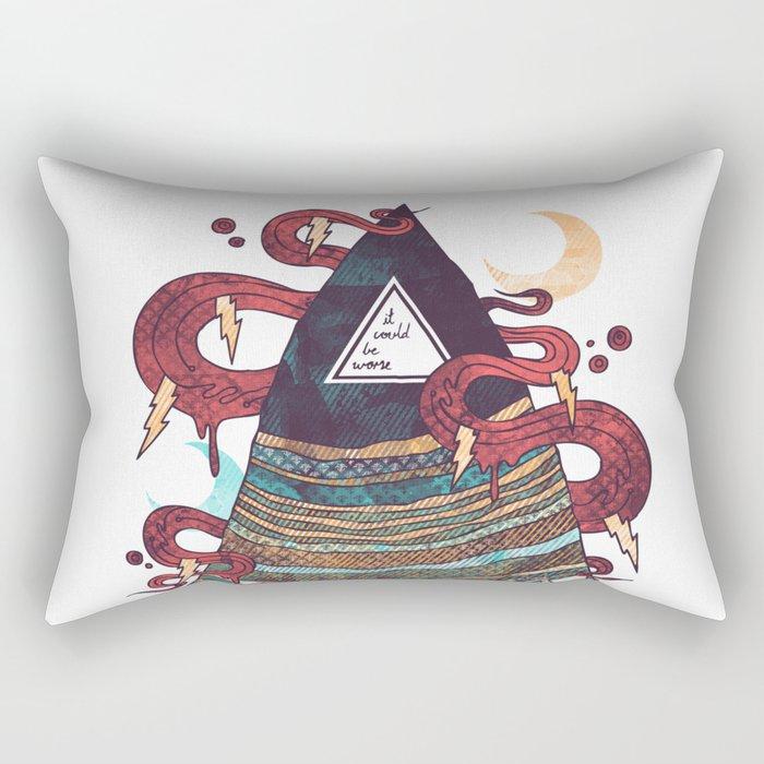 Positive Thinking Rectangular Pillow
