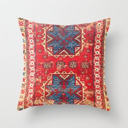 Bergama Northwest Anatolian Rug Throw Pillow