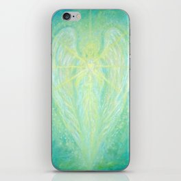 The Archangel Raphael - Angel of Healing iPhone Skin