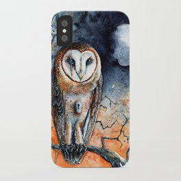 Gibbous in Thorns iPhone Case