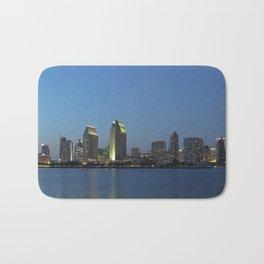 San Diego Skyline Bath Mat