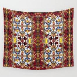 vitray garden Wall Tapestry