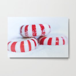 Hard Candy Christmas Metal Print