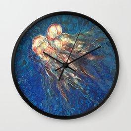 Portuguese Man o' war - Caravela Portuguesa Wall Clock