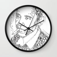 obama Wall Clocks featuring obama times by Vin Zzep