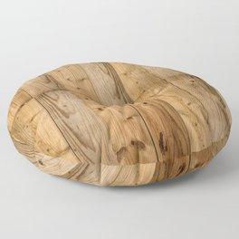 Wood 6 Floor Pillow