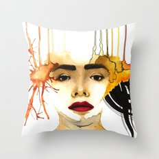Mad times Throw Pillow