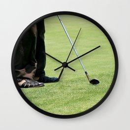 Golf Feet Wall Clock