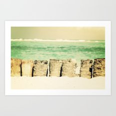 I love the sound of the Ocean Art Print