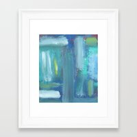 disco Framed Art Prints featuring Disco by Cailin Rawlins