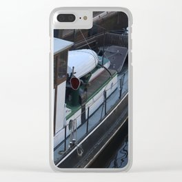 "Spree History port Berlin "" Oldy Nave "" Clear iPhone Case"