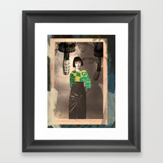 The Madame Framed Art Print