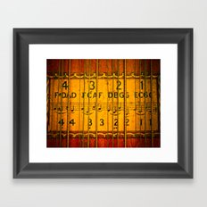 Chords, Notes, & Strings Framed Art Print