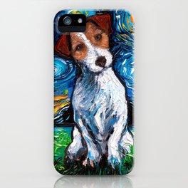Jack Russel Terrier Night iPhone Case