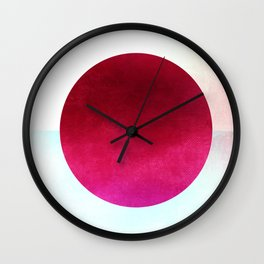 Cicle Composition XI Wall Clock