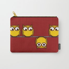 A whole new perspective for the owl Carry-All Pouch